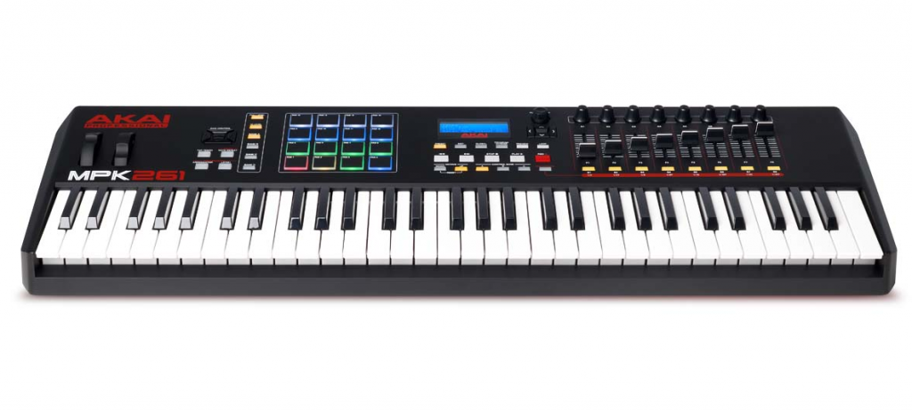Akai MPK261 - my pick for the best MIDI keyboards at the top-end of the market