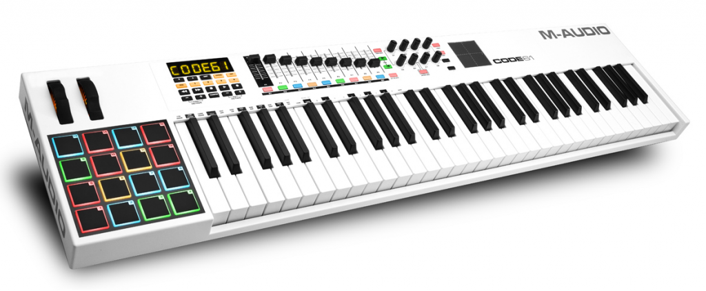 best midi keyboard M-Audio Code 61