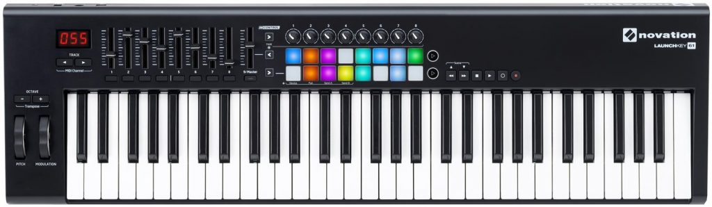 Best Mid-Range MIDI Keyboard: Novation Launchkey 61 MK2