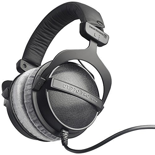 beyerdynamic DT770 Pro is the best headphone for guitar amp if you want a multi-utility headphone