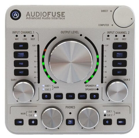 Arturia Audiofuse 14x14 is the best performance pick for serious home studios