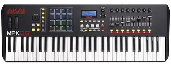 Akai MPK261 - The Best Performing 61 Key MIDI Keyboard in 2020