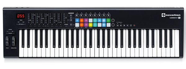 The Novation Launchkey 61 MK2 - The best 61-key MIDI keyboard for all buyers.