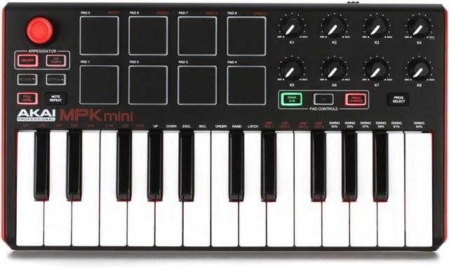 Akai MPK Mini MK2 is the best mini MIDI keyboard overall
