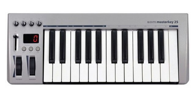 Acorn Masterkey 25 is the best cheap MIDI keyboard you can buy right now
