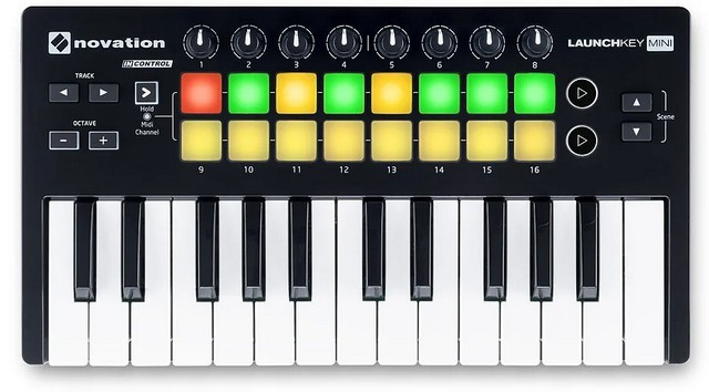 Novation Launchkey 25 is the best mixed use controller for FL Studio