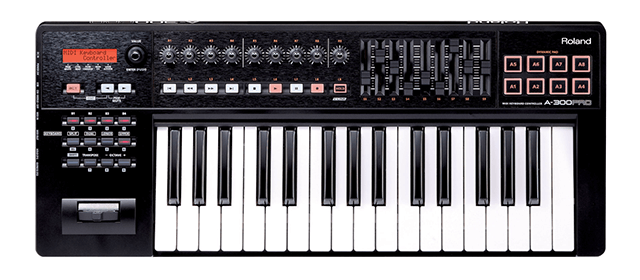 Roland A-300 Pro-R has the best keyboard among all these options