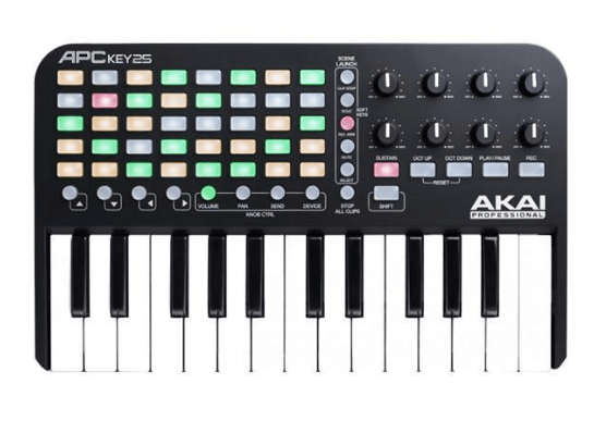 Akai APC Key 25 is the best keys and pad controller for FL Studio users on a budget