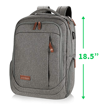 Look for keyboards that can fit inside a standard laptop backpack
