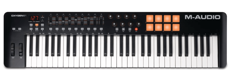 M-Audio Oxygen 49 is the best keyboard controller for FL Studio