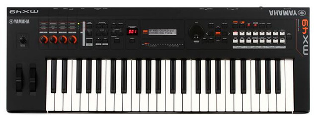 Yamaha MX49 is the best Yamaha synthesizer keyboard
