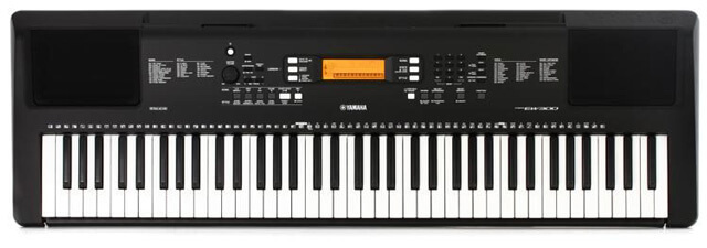 Yamaha PSR EW300 is the best Yamaha keyboard for serious beginners