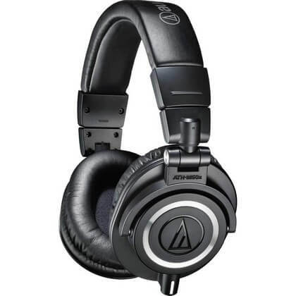 Audio Technica ATH-M50x is the best Audio Technica headphones around if you want a mix of performance and price