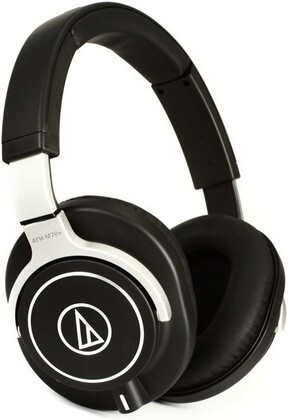 Audio Technica ATH-M70x is the best Audio Technica headphones around if you want audiophile grade performance