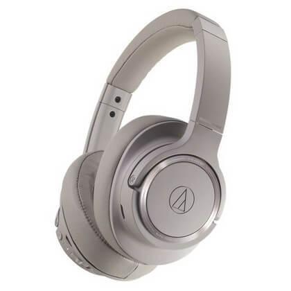 Audio Technica ATH-SR50bt is the best Bluetooth wireless Audio Headphones on the market