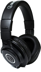 Audio Technica ATH-M40x is the best Audio Technica headphones around if you want studio grade performance at a low price tag