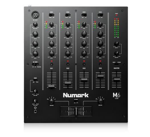 Numark M6 is the best DJ mixer for beginners
