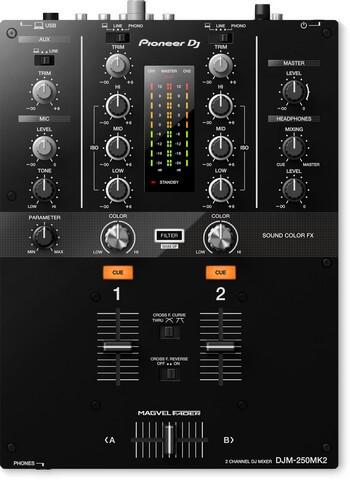 Pioneer DJM-250MK2 is the best DJ mixer for casual DJs