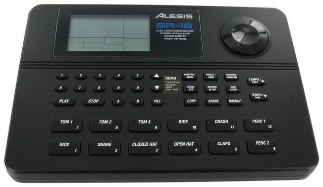 Alesis SR6 is a digital drum machine that offers competent performance at a small price tag