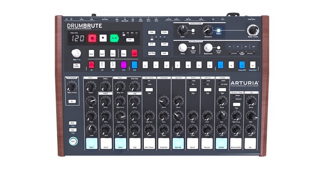Arturia DrumBrute is one of the best mid-range drum machines on the market currently