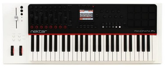 Nektar Panorama P4 is the best MIDI controller for Cubase thanks to robust integration and performance