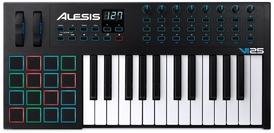 Alesis VI25 is the best budget MIDI keyboard