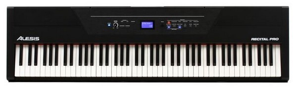 Alesis Recital Pro is the best digital piano for a beginner if you want education features