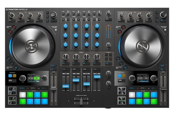 NI Traktor Kontrol S4 is the best Traktor DJ controller under $1000