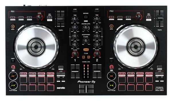 Pioneer DDJ-SB3 is the best DJ controller if you are a beginner