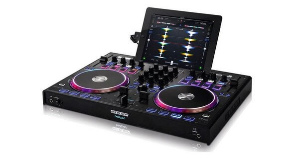 Reloop Beatpad 2 is a great DJ controller if you want to use your iPad