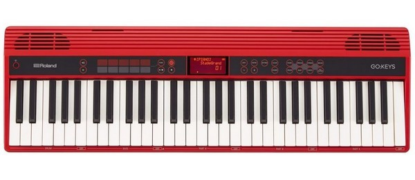 Roland GO-61K is the best digital piano for a beginner for portability