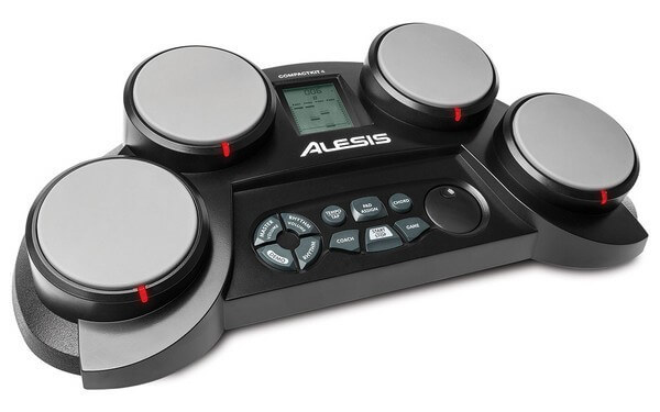 Alesis Compact Kit 4 is the best electronic drum set for beginners for entry level players