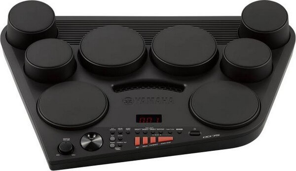 Yamaha DD-5 is the best electronic drum set for beginners in the portable category