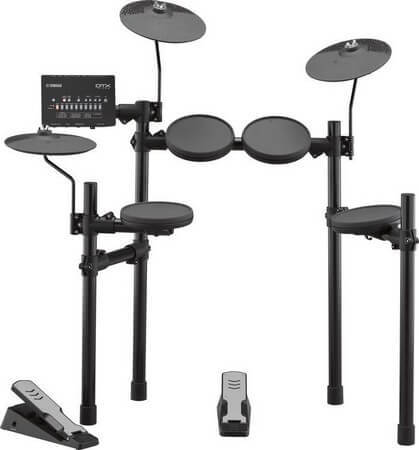 Yamaha DTX402k is the best electronic drum set for beginners in the performance category