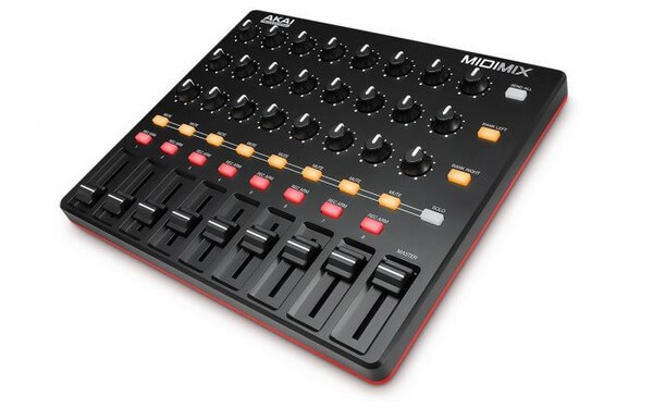 Akai pro midimix is a great option for budget users