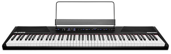 Alesis Recital is the best entry level digital piano for learning piano