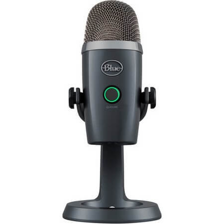 Blue Yeti Nano is the best condenser microphone under $200 for podcasting