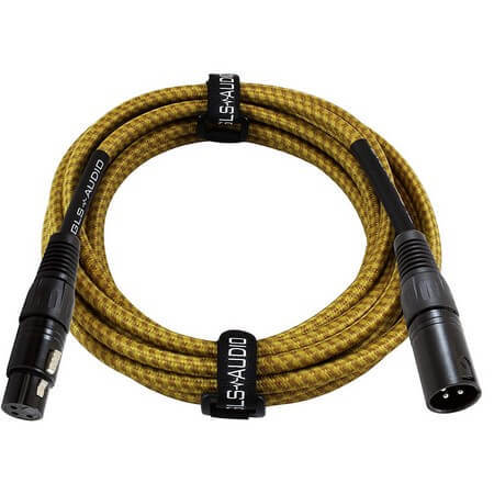 GLS Audio 25 is the best XLR cable for stage use
