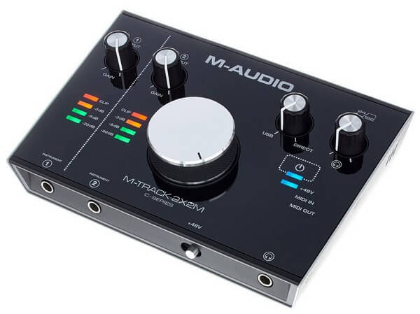 M-Audio M-Track is a budget priced audio interface for home studios
