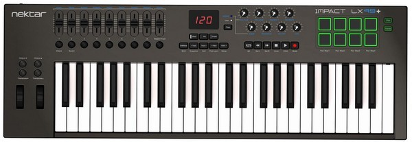 Nektar Impact LK61+ is the best MIDI controller keybed for budget buyers
