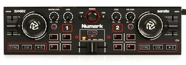 Numark DJ2GO2 is a great MIDI controller for DJs who want portability