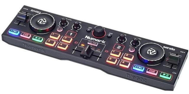 Numark DJ2GO2 is the most portable DJ controller under $100
