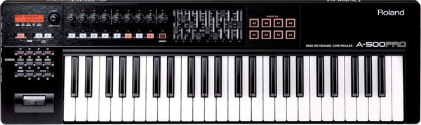 Roland A-500 Pro is the best MIDI controller keybed overall