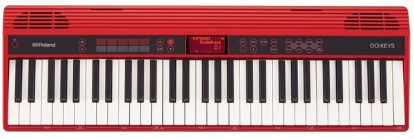 Roland Go-61K - one of the best MIDI keyboards for learning piano