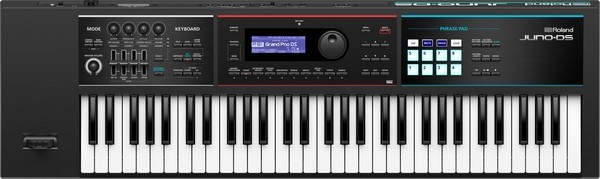 Roland Juno DS-61 is the best MIDI controller keybed for performance buyers