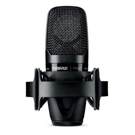 Shure PGA27-LC is the best condenser microphone under $200 in the pro studio category