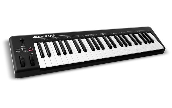 Alesis Q49 is the best MIDI controller keybed for entry level users