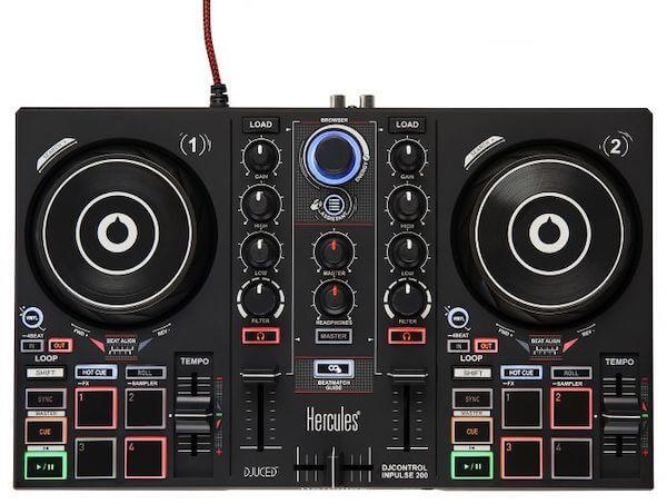 Hercules Impulse 200 is the best DJ controller under $100