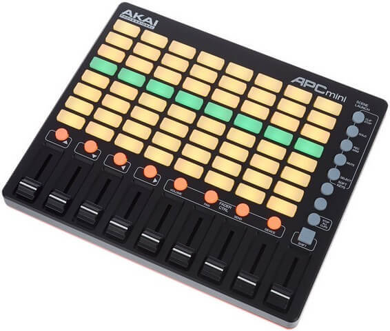 The Akai APC Mini is the best Ableton controller if you want performance in a tiny package without paying a ton of money