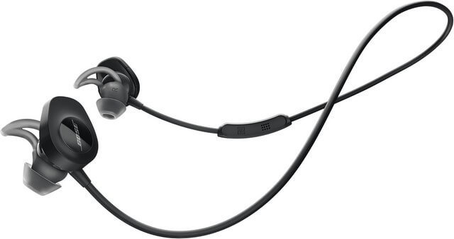 Bose Soundsport is one of the best earphones for cycling in 2020